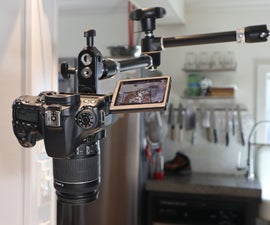 Mounting a Camera Overhead
