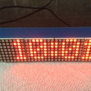 Arduino small tabletop clock with dot-matrix display (easy project)