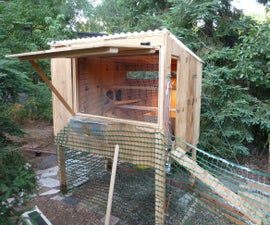 Hen House From Old Garage Cupboards