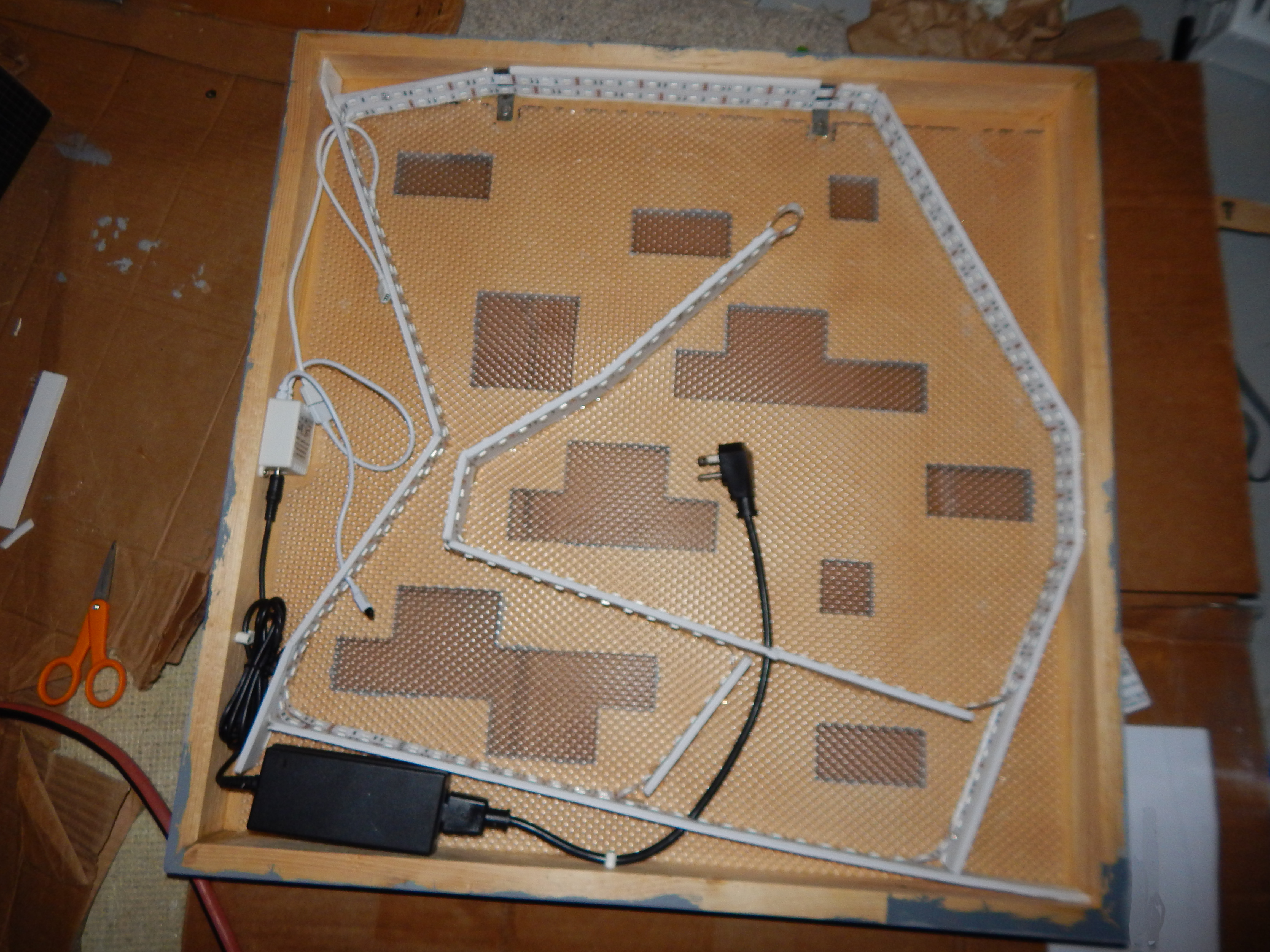 Picture of Install the LED Strip