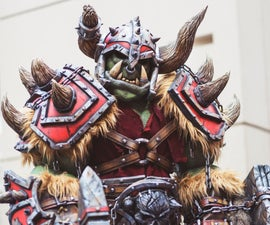 WarCraft Orc Full Scale Cosplay Costume