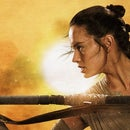 The Force Awakens-Rey's Triple Bun Hairstyle