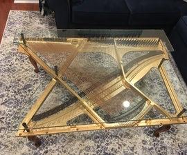 Piano Harp Coffee Table