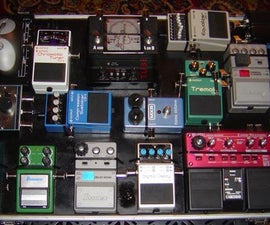 multi layer pedal board for guitar~