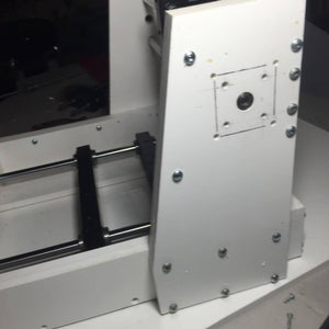 ​Drilling Cutting and Assembling Y Axis Uprights and Brace