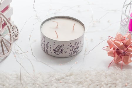 How to - Tin Candle From Tuna Cans