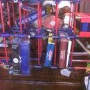 K'NEX shelf with helipad V2