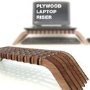 Interlocking Plywood Laptop Riser - With Plans