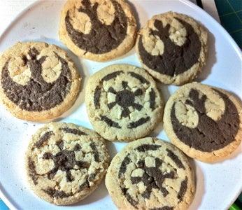 Star Wars Stencil Cookies