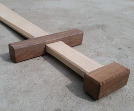 How to Make a Wooden Sword
