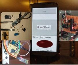 Bluetooth door opener/ monitor