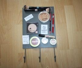DIY Magnetic Makeup Board