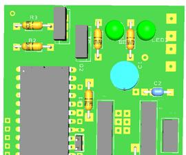 3D Scanner control board arduino nano + drv8825