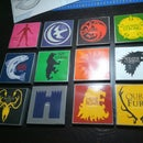 Game of Thrones: Drinks Coasters Set