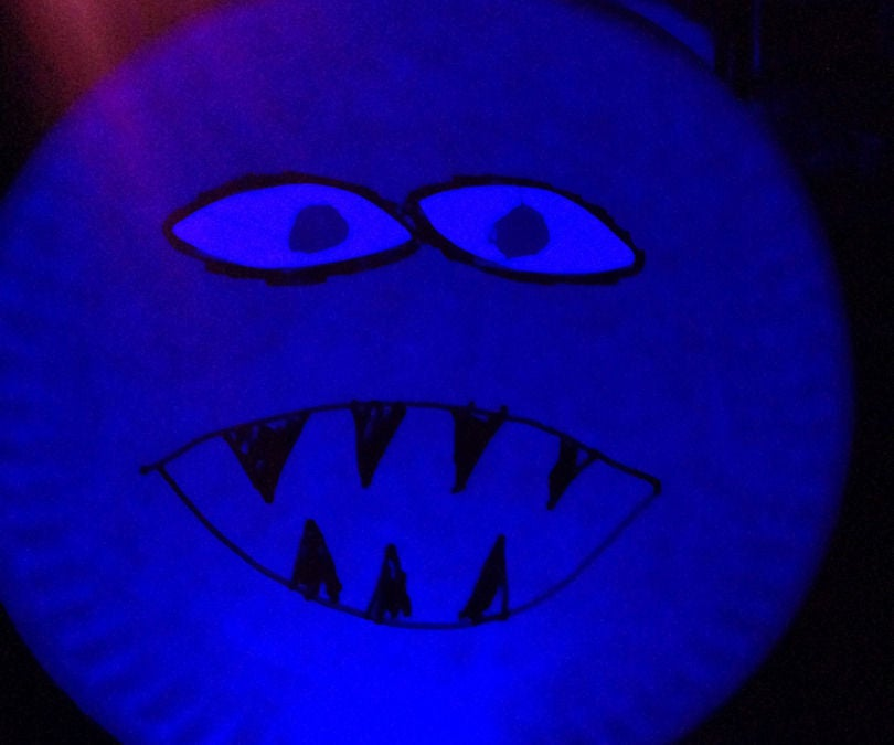 Creepy Following Eye Halloween Decoration for Under 50 Cents