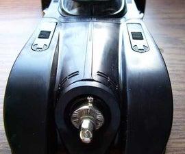 Batmobile With hidden thumb drive