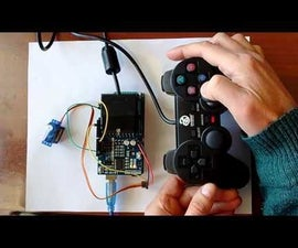 Arduino: Controlling Servo With PS2 Controller (Program With Visuino)