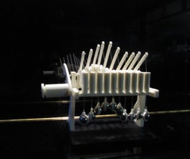 """3D printing of """"The Wave"""""""