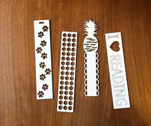 Laser Cut Bookmark