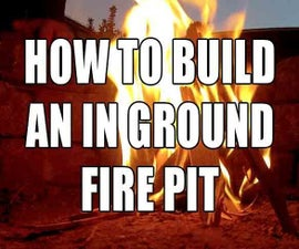 How to build an in ground fire pit