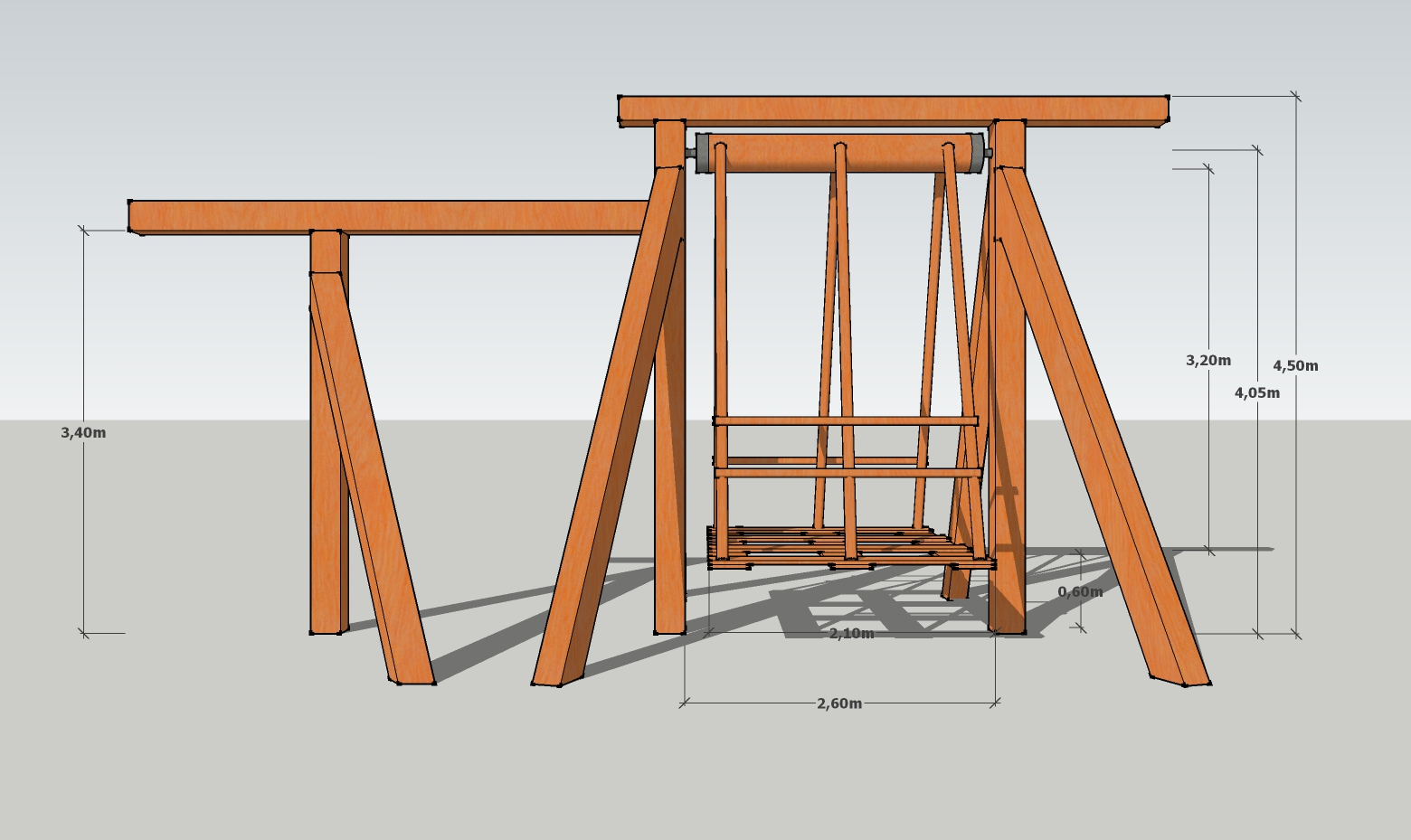 Picture of Photos and Plans for the Village Swing