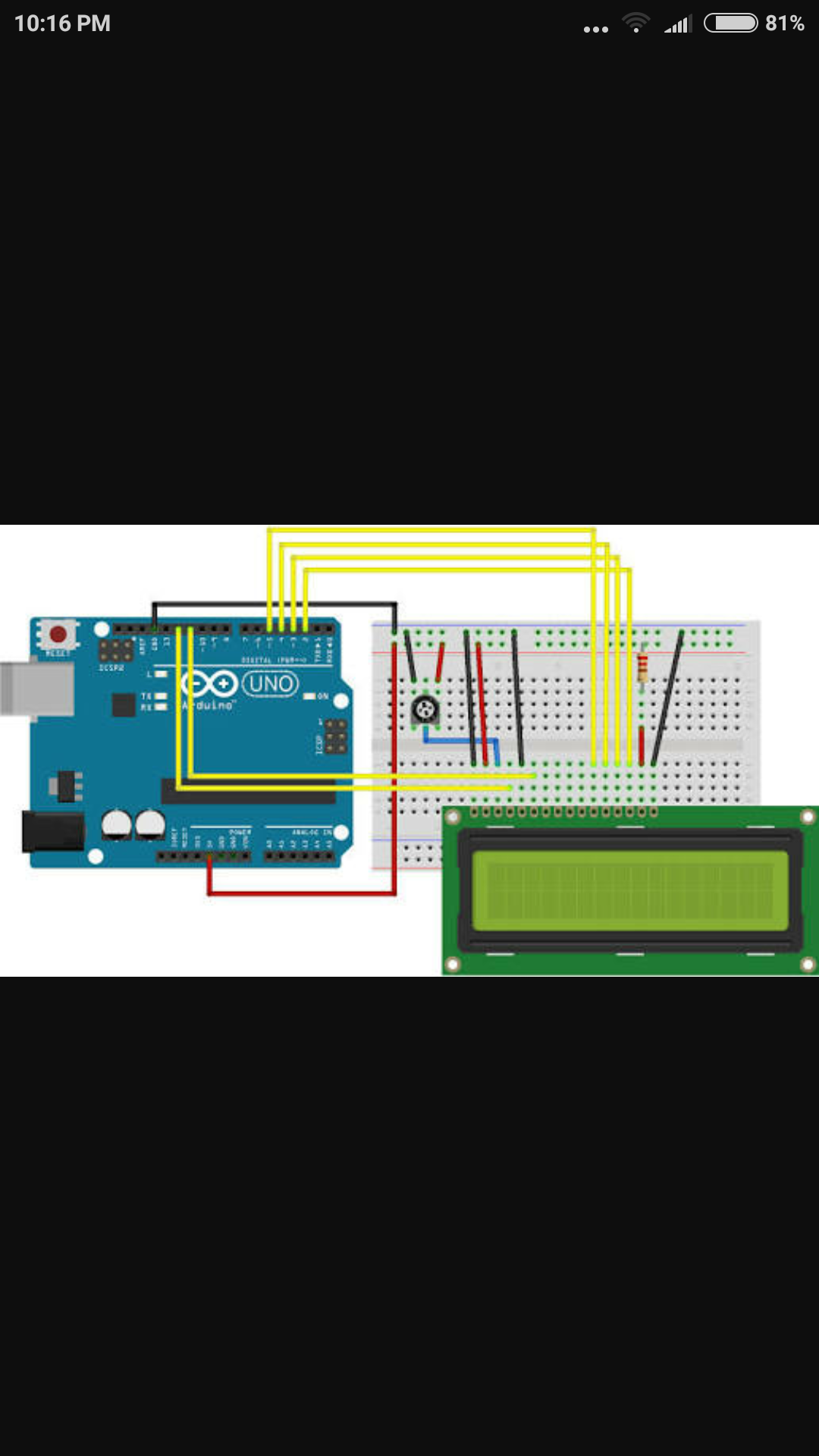 Picture of Connect the LCD to the Arduino As Shown