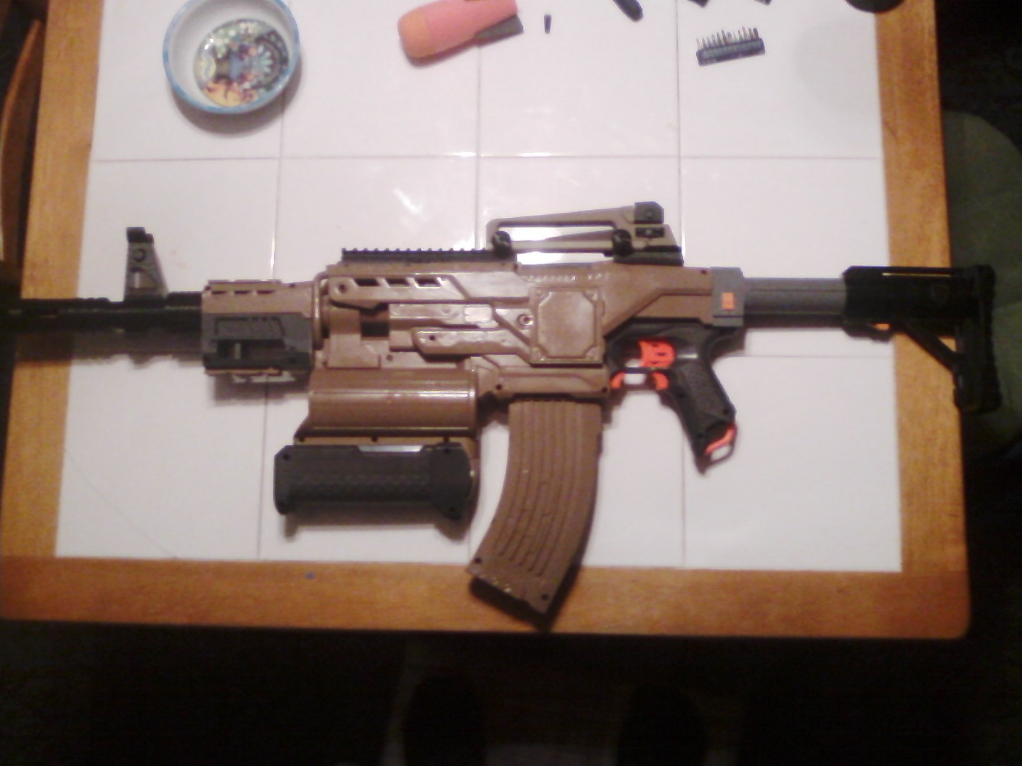 Picture of Nerf Demolisher Desert M4 Carbine