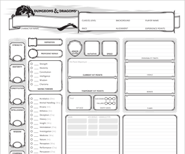 Creating a D&D 5e Character for Beginners!