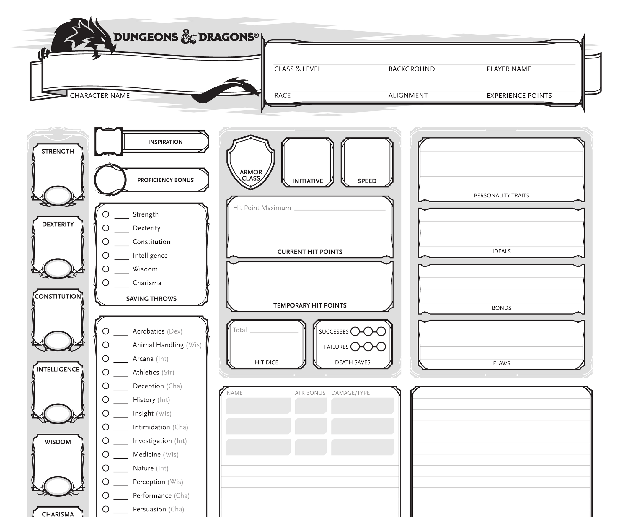 Creating a D&D 5e Character for Beginners!: 10 Steps