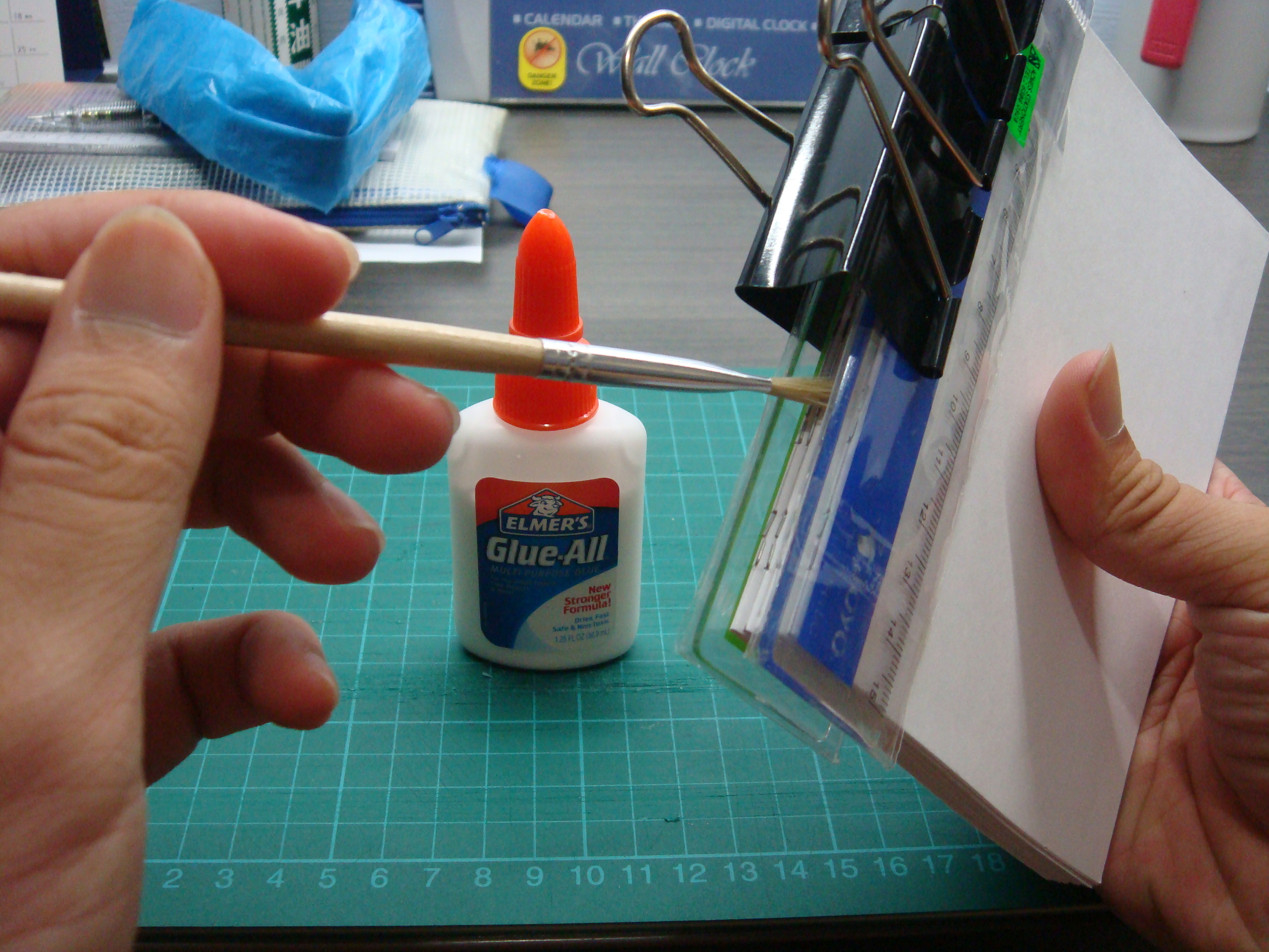 Picture of Filling Gaps With Glue
