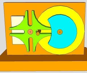 Easy Geneva Wheel Using Sketchup