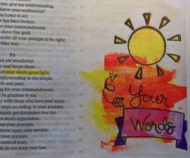 Bible Journaling - Psalms 119:130