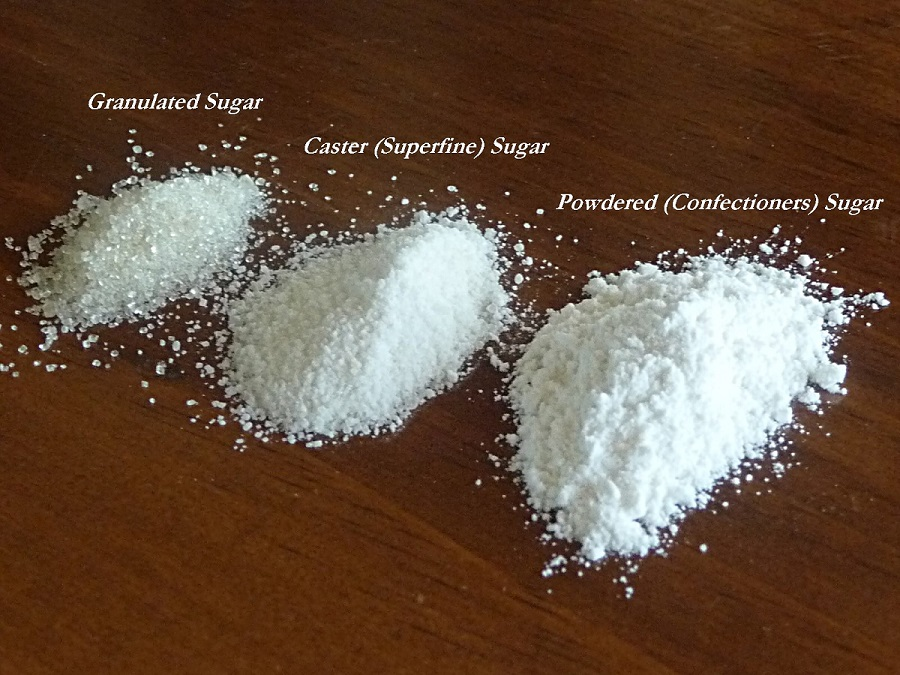 Picture of DIY: How to Make Caster and Powdered Sugar
