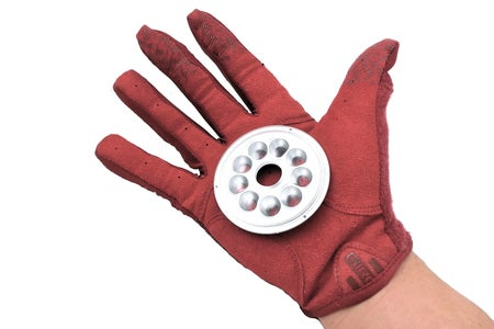 [Repulsor Glove] Preparing the Glove for the LED Lights