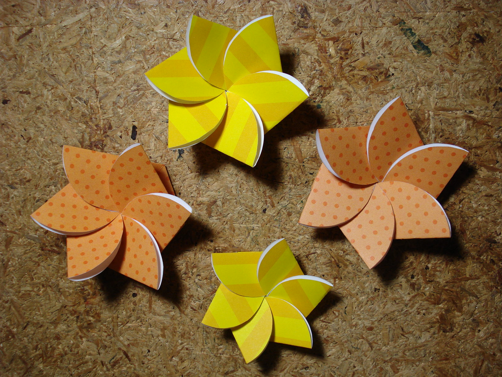 paper flower card  instructables