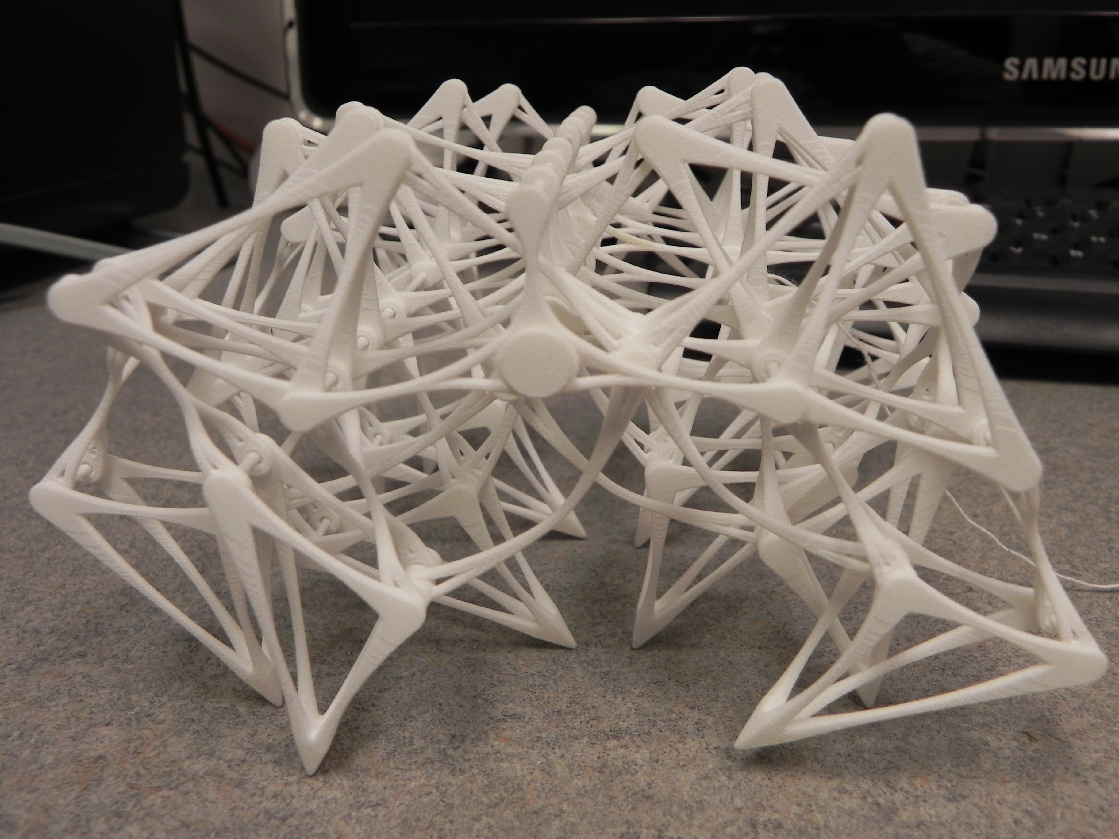 Picture of 3D Printed Theo Jansen Strandbeest