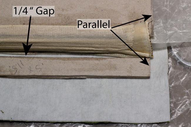 Picture of Glue Bookcloth to Bookboard Covers