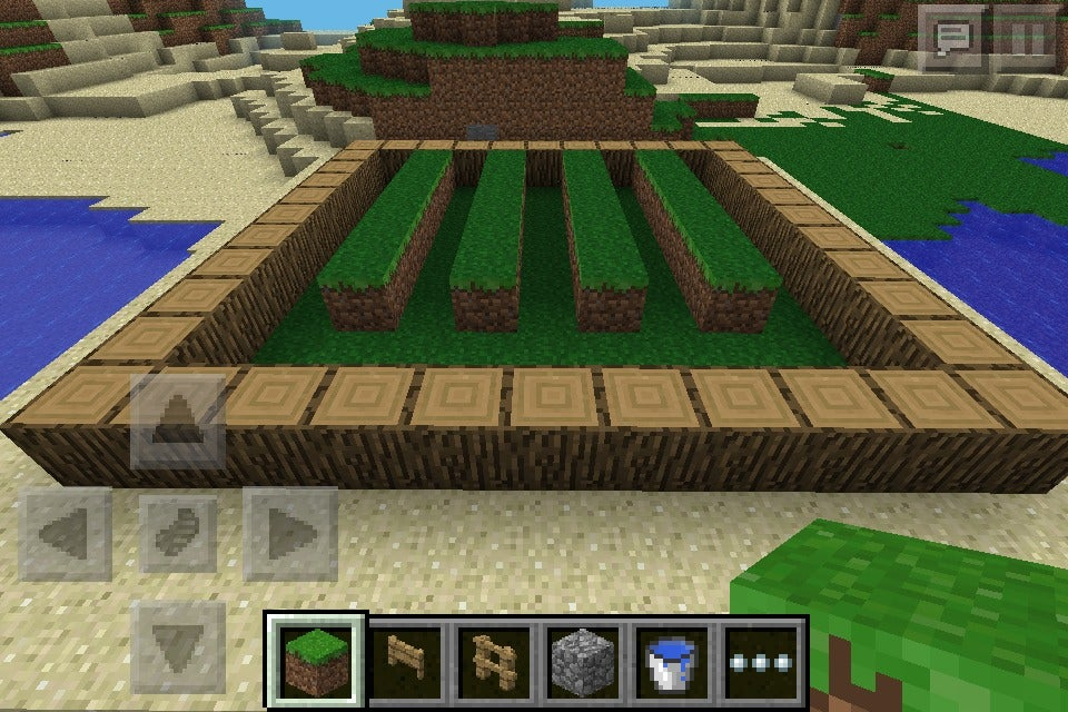How To Make A Simple Wheat Garden In Minecraft Pe 13 Steps Instructables