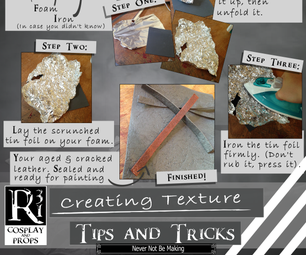 Working With Foam: Tips and Tricks - Creating Texture