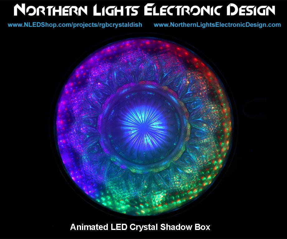 Animated Led Crystal Shadow Box 6 Steps Instructables