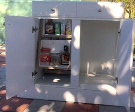Modifiable Rotating Shelf Mechanism