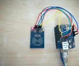 Arduino Interface With MySQL(PHPMYADMIN) for Storing RFID Access Details