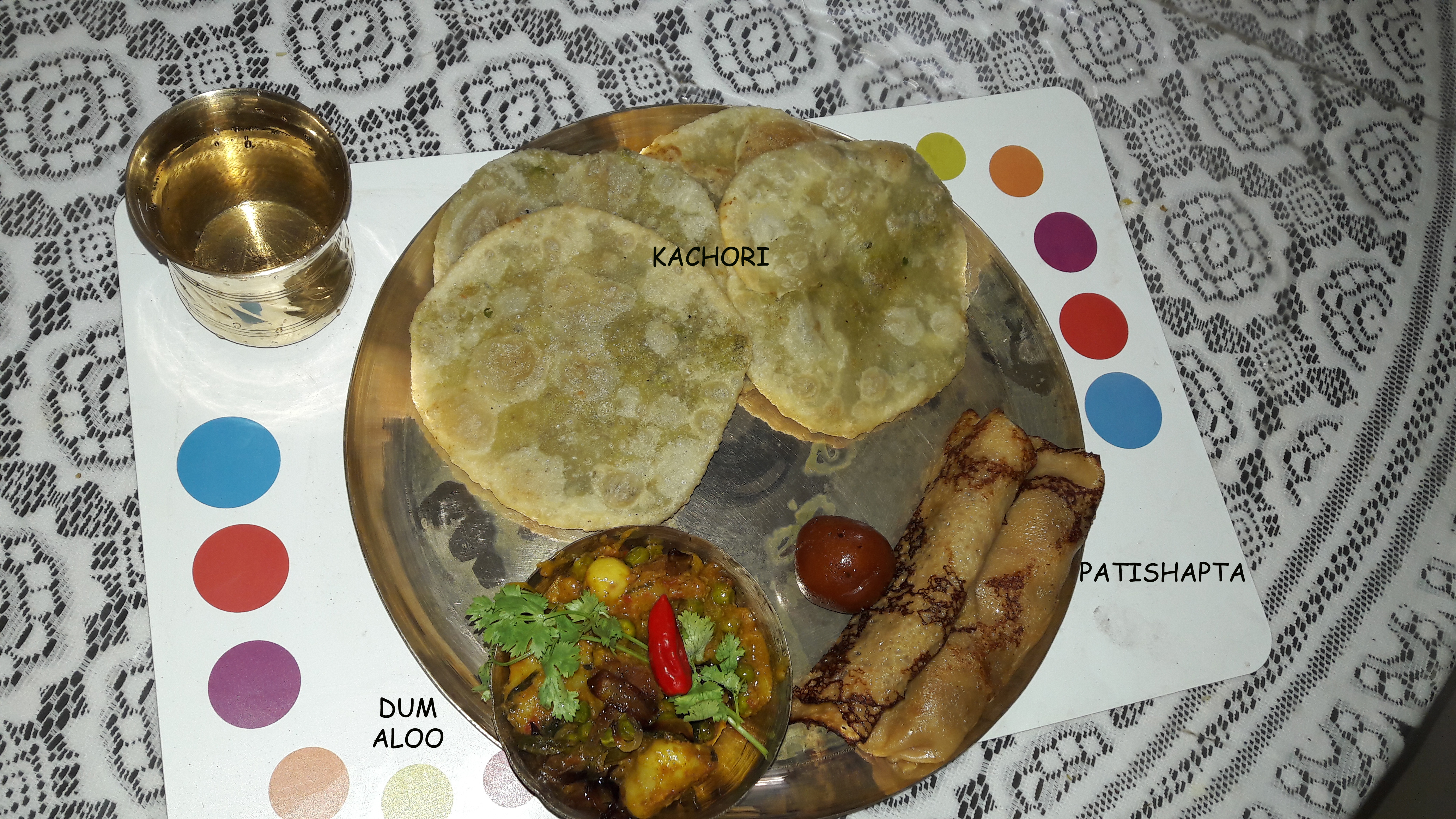 Picture of Traditional Bengali Breakfast