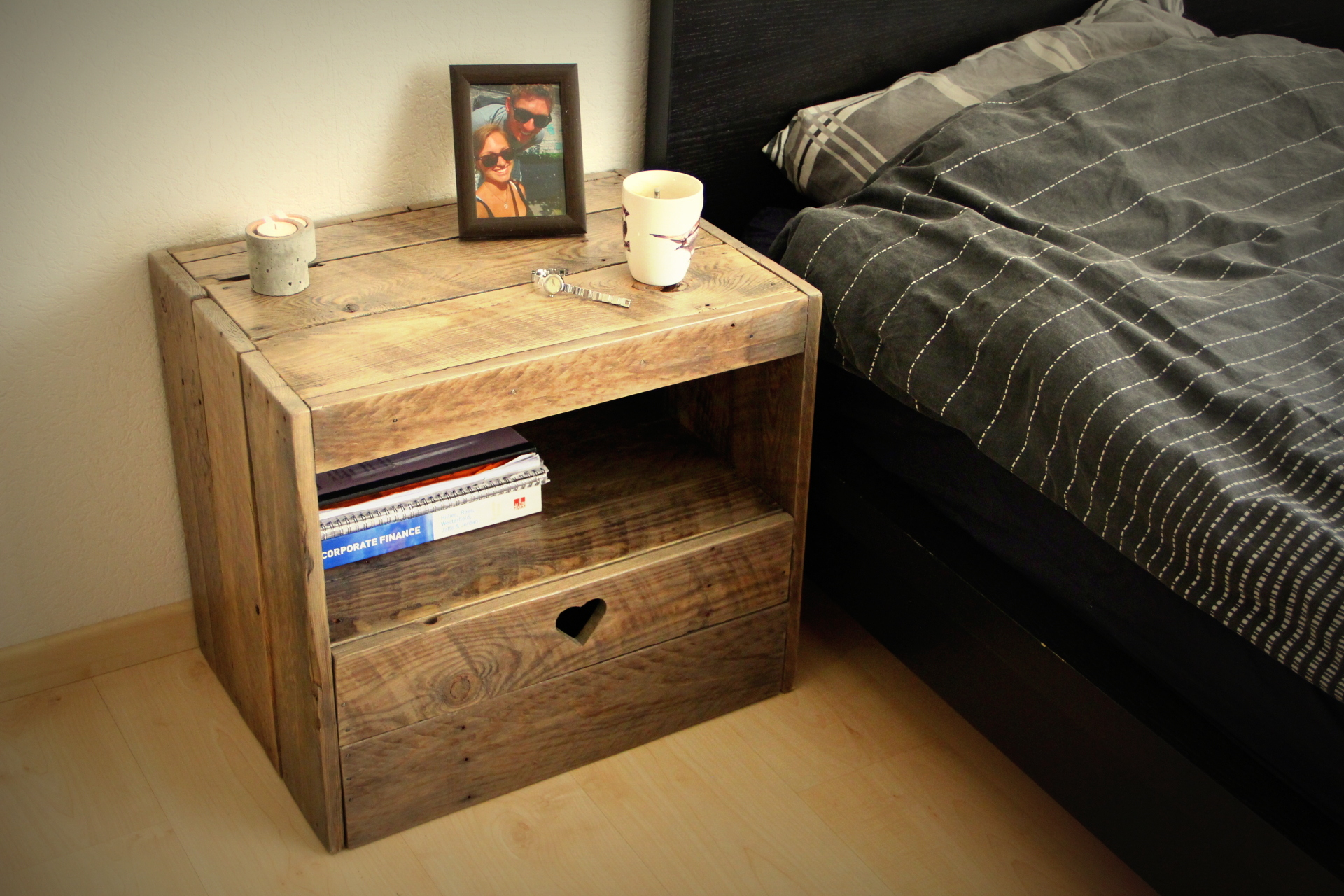 Picture of Pallet Nightstand