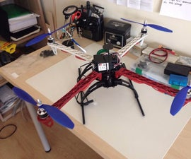Quadcopter with crius AIOP v2 megapirateng code