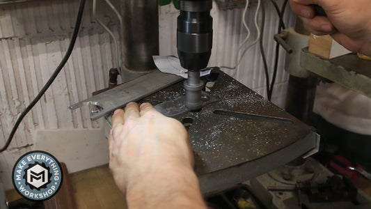 Drilling the Finger Holes