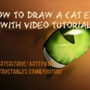 How to Draw a Cat Eye (with video tutorial)