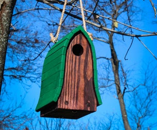 Bluebird Birdhouse Made From Pallets