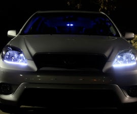 5 Steps to Install LED Lighting Strip in Headlights for Toyota