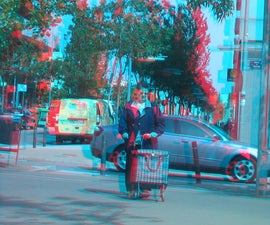 3D Anaglyph Camera Attachment!